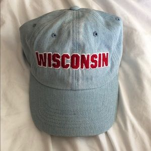 VS Pink Wisconsin Badgers Baseball Hat